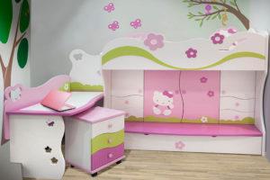 XYLON   Dizajn enterijera i nameštaja   Soba za devojčice