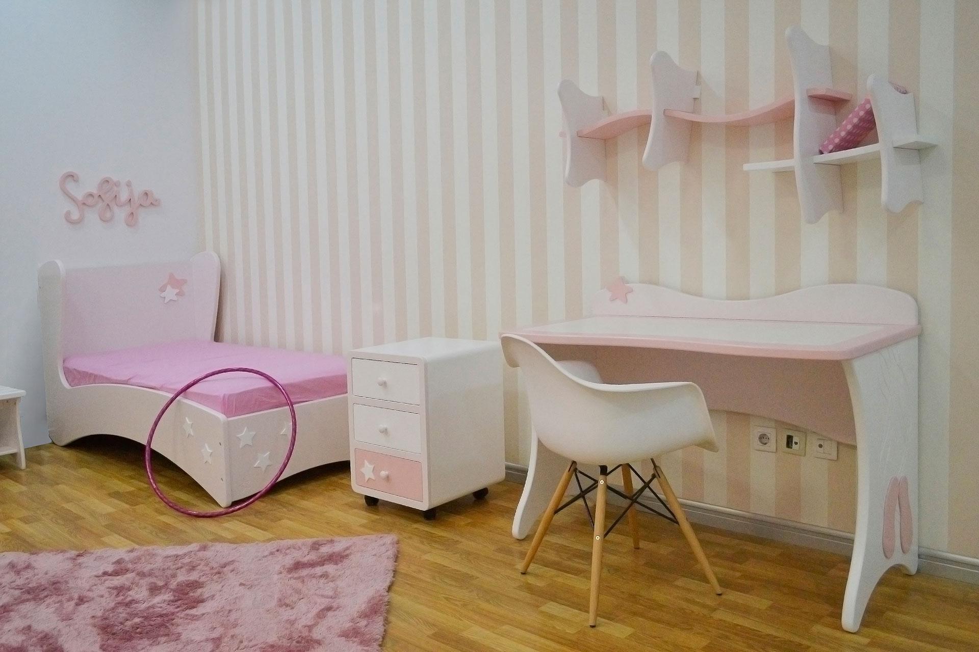 XYLON | Dizajn enterijera i nameštaja | Soba za devojčice