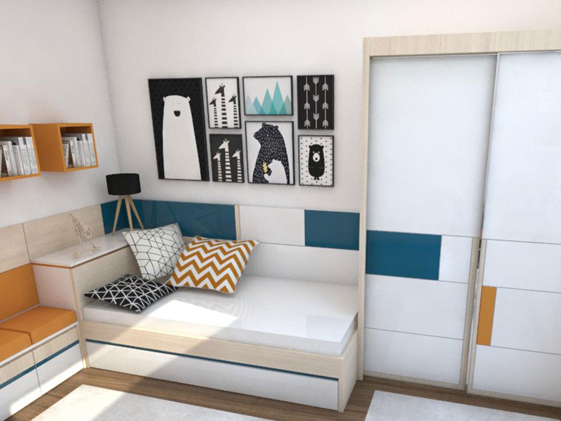 XYLON | Dizajn enterijera i nameštaja | Soba za tinejdžere