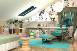 XYLON   Dizajn enterijera i nameštaja   Soba za tinejdžere