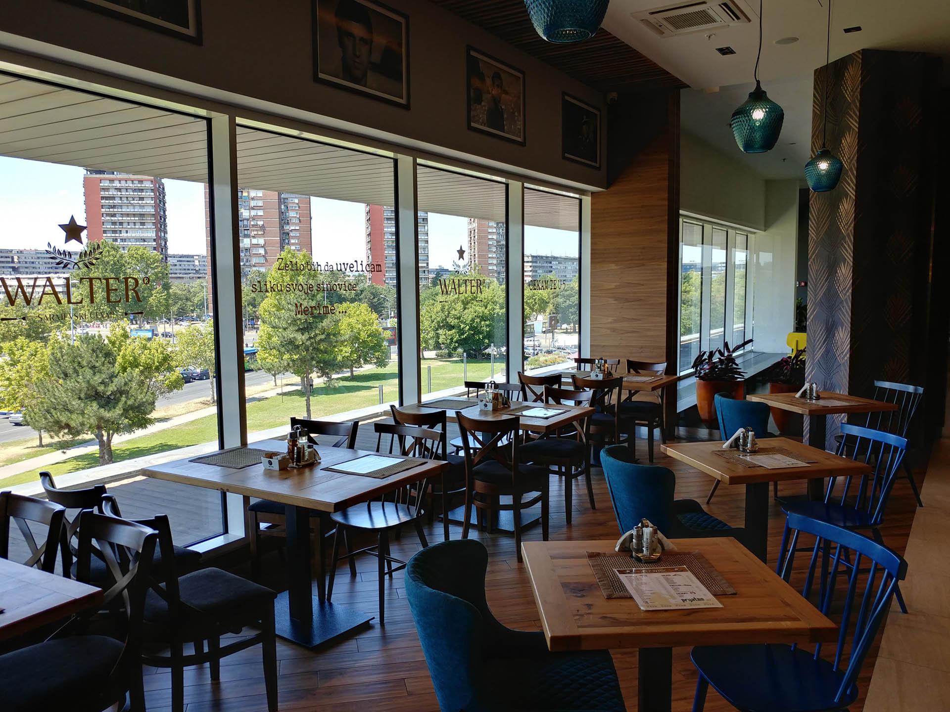 XYLON | Dizajn enterijera i nameštaja | Restoran Walter